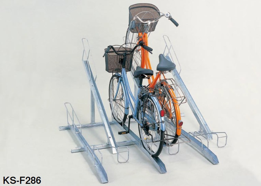 High quality and floor mounted used bike racks for public facilities, apartments etc.