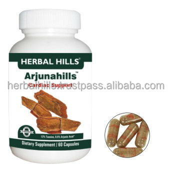 health food supplement manufacturers / Arjuna Terminalia Herbal Capsules