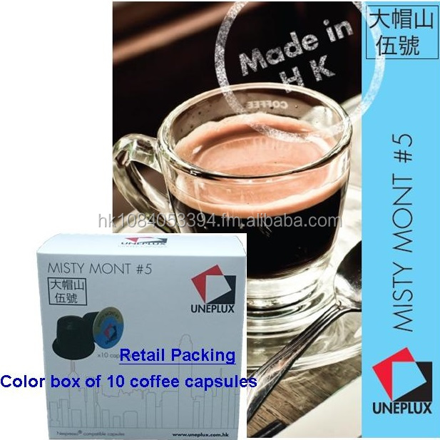 Nespresso compatible Coffee Capsule - Misty Mont#5