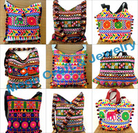 Wholesale Gujarati Kutch Embroidery Handbag/Shoulder bag-Indian traditional banjara handmade bag-Tote bohemian messenger handbag