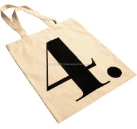 Washable Reusable Cotton Grocery Bag /canvas wholesale tote bags