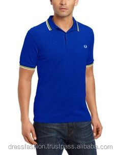 Men's Pique Polo Shirts with Embroidery or Print