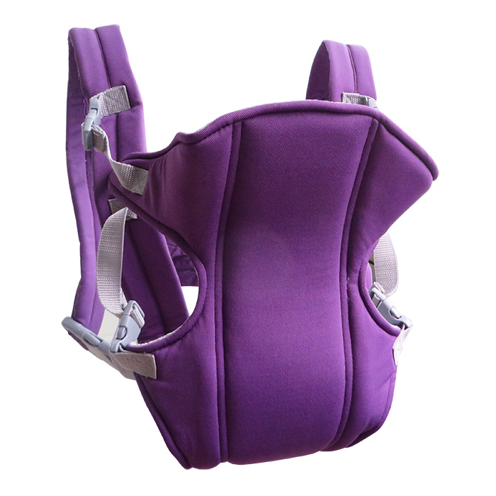 Multifunctional Front Back Baby Infant Safety Kangaroo Wrap Sling Carrier Purple