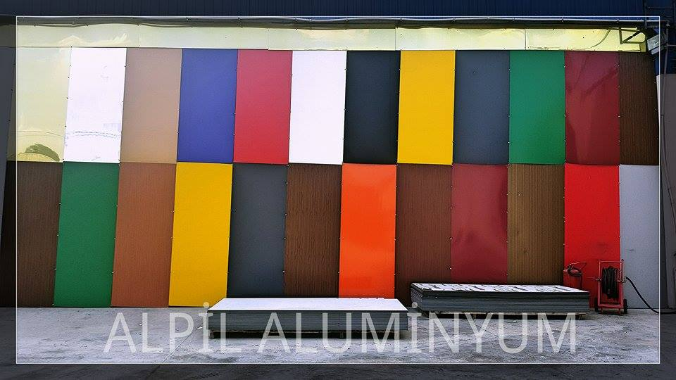 2mm - 8mm various colorful aluminium composite panel manufacturer