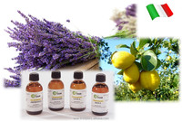 Italian aromatherapy essential oils also for aroma diffuser and aroma oxygen bar, 50 ml each