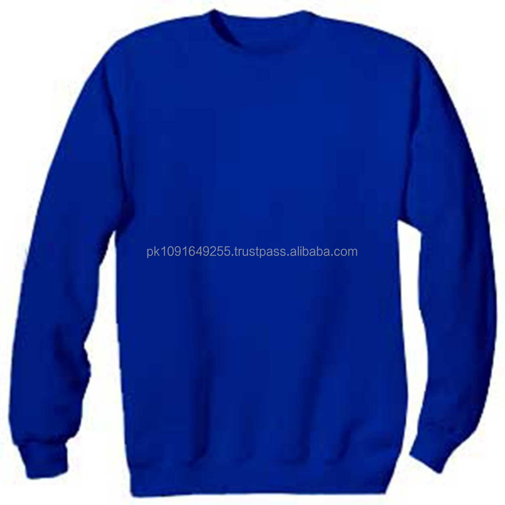 Custom Made Sublimated Sweat Shirt , Good Quality Sweat Shirts in Cotton and Polyester