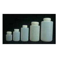 Square pill bottle 150cc, HDPE white bottle 60cc, empty madicine bottle