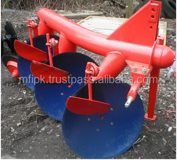 Mounted 3 Disc Plough