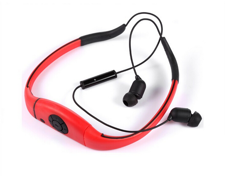 hot sale!ipx8 waterproof 4G 4GB mp3 player swimming
