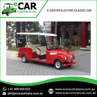 Electric Classic Luxurious Red Four Wheel Car at Best Price