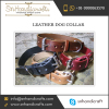 leather dog collar leather greyhound collars plain leather dog collars