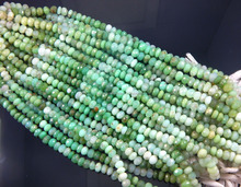 chrysoprase AAA quality Gemstone Faceted Round Beads Strands