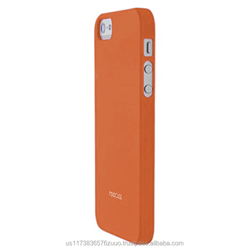 S1-R series Ultra slim shell case with polyurethane matte coating for iPhone 5/5s (not compatible with 5c) roocase (Orange)