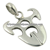 Attractive Design 925 Plain Silver Charms Pendant