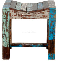 Indian Style Rustic Stool/Beautiful Finish For Sale