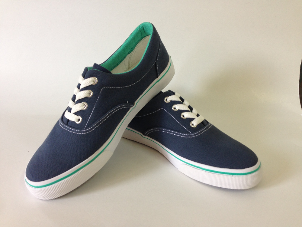 comfortable men casual canvas shoes H1699 with standard competitive frice