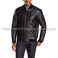 Leather Custom garment mens Best Quality bomber jackets made in Sialkot city of Pakistan