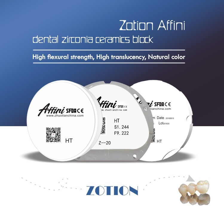 Zirkonzahn SST super translucent dental zirconio bloque