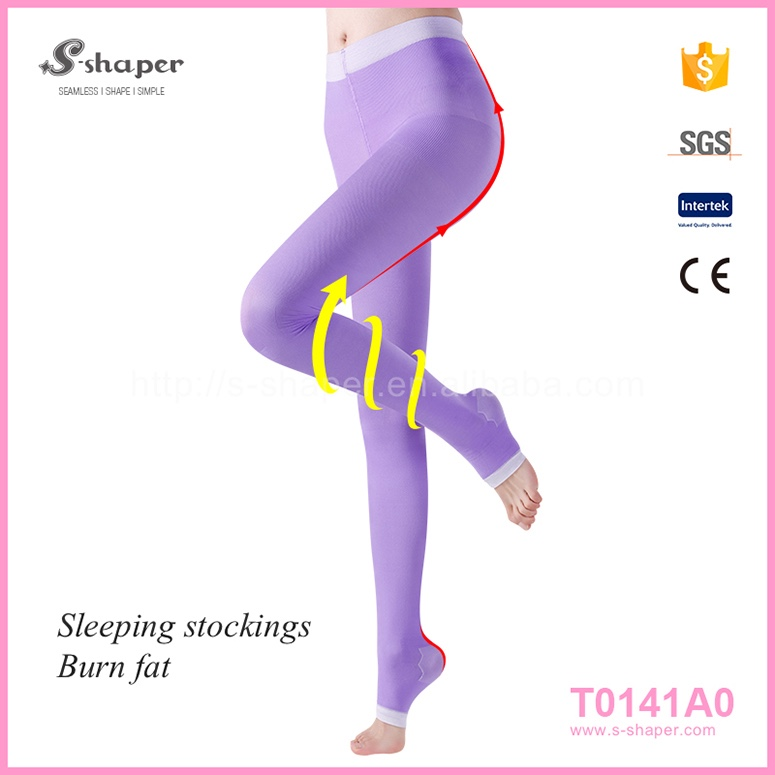 S - SHAPER Anti Embolism Stockings Sleep Stockings T0141A0
