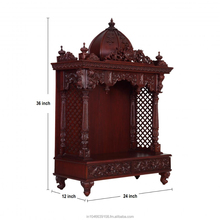 Pooja Mandir Designs in Home : Indian pooja mandir temple