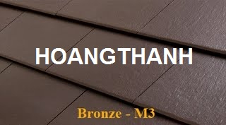 Wave Flat Roof Tile Bronze M3