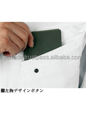 Uniform shirts with long sleeve ( spring and summer ). Made by Japanese clothing