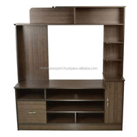 TV stand Contemporary in Wenge Luxury cheap Wooden apartments hot sale living room wholeselling handmade Traditional