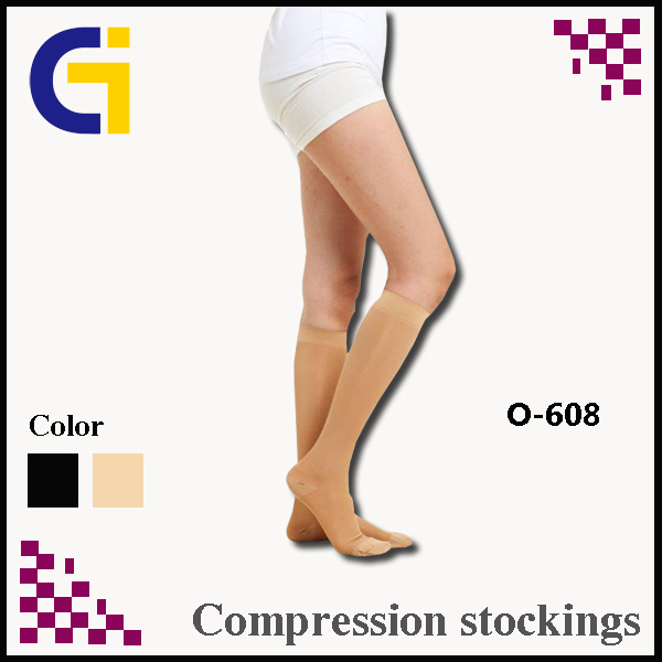(Class 2)For Varicose Closed Toe Nylon Shank High Compression Stockings