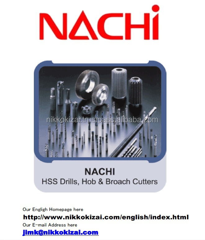Excellent quality made in japan cutting tools for Nachi for mold for car audio at good price for supplier list alibaba com