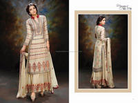 Designer fancy chiffon suits