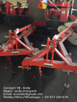Kubota Lower Price Tailand Market Sheet Metal Fabrication 2 Disc Plough for sales DP247