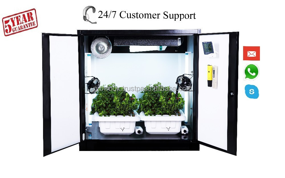 Hydroponic Indoor Plant Grow Box Deep Water Culture