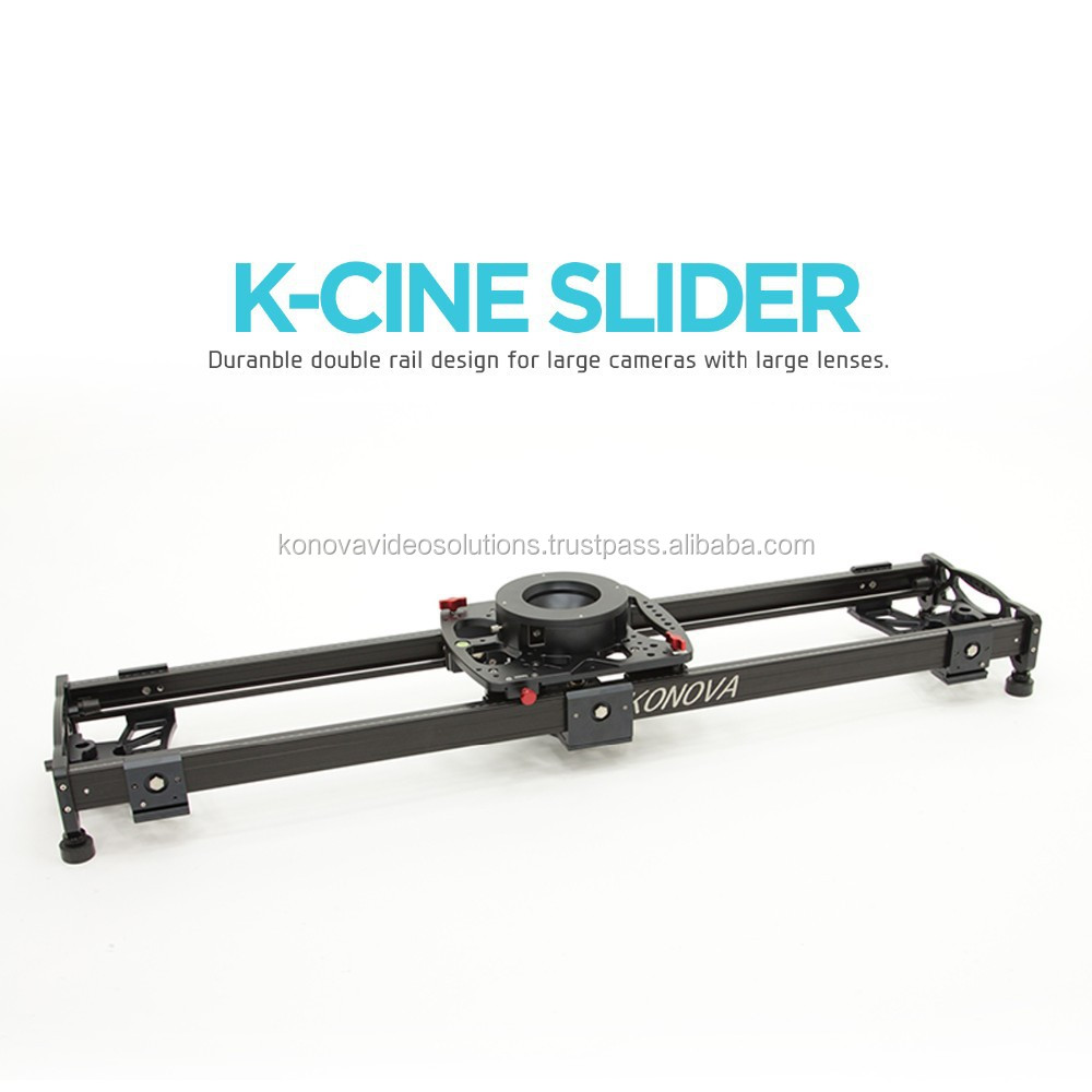 "Konova K Cine Slider 150cm (59"") for Heavy Cameras with Large Lenses Like Arri and Red Camera"