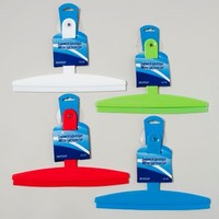 SQUEEGEE 12IN PLASTIC W/SUCTION CUP 4AST COLORS #G11163