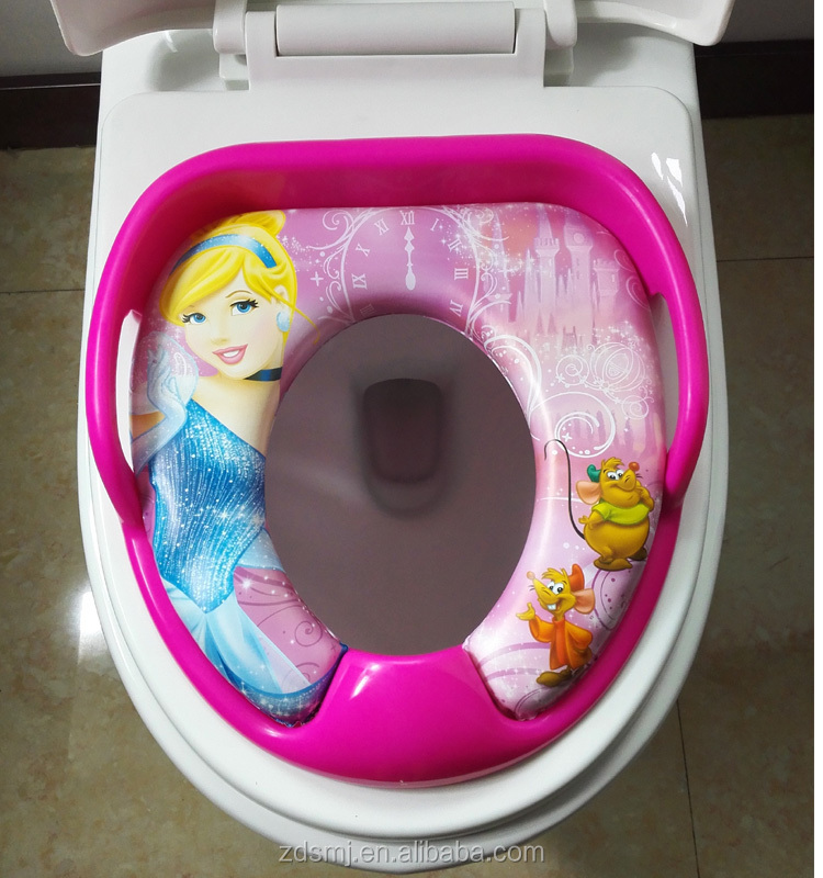 Eco-friendly PVC material baby toilet seat