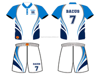 Custom design Sublimation Soccer Jersey and shorts TVPSC221