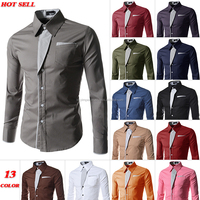 fashion double collar trim men shirt with long sleeve,100% cotton long sleeve white Italian collar style latest fashion design b