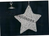 Classic Shiny Crystal Hanging Star