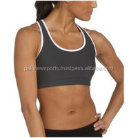 Custom Plus Size Sports Bra, Wicking Material Padded Sports Bra