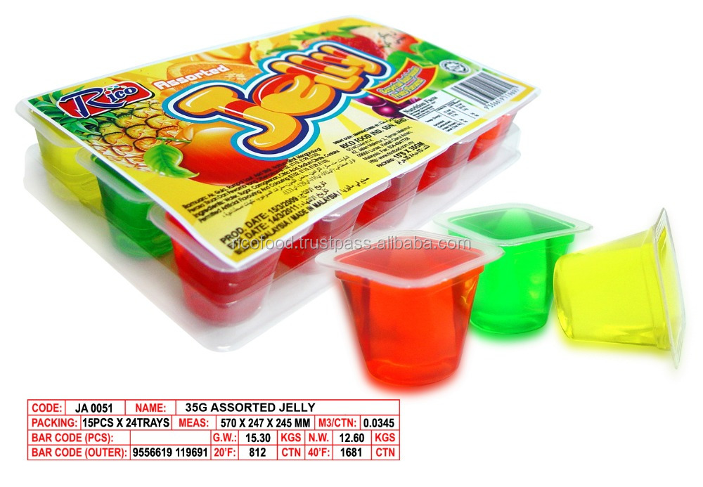 Rico 35g Assorted Jelly