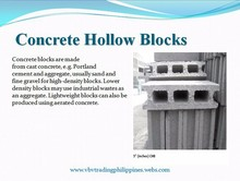 Concrete Hollow Blocks (CHB)