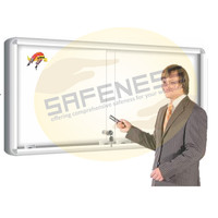 Sliding Glass Magnetic Boards