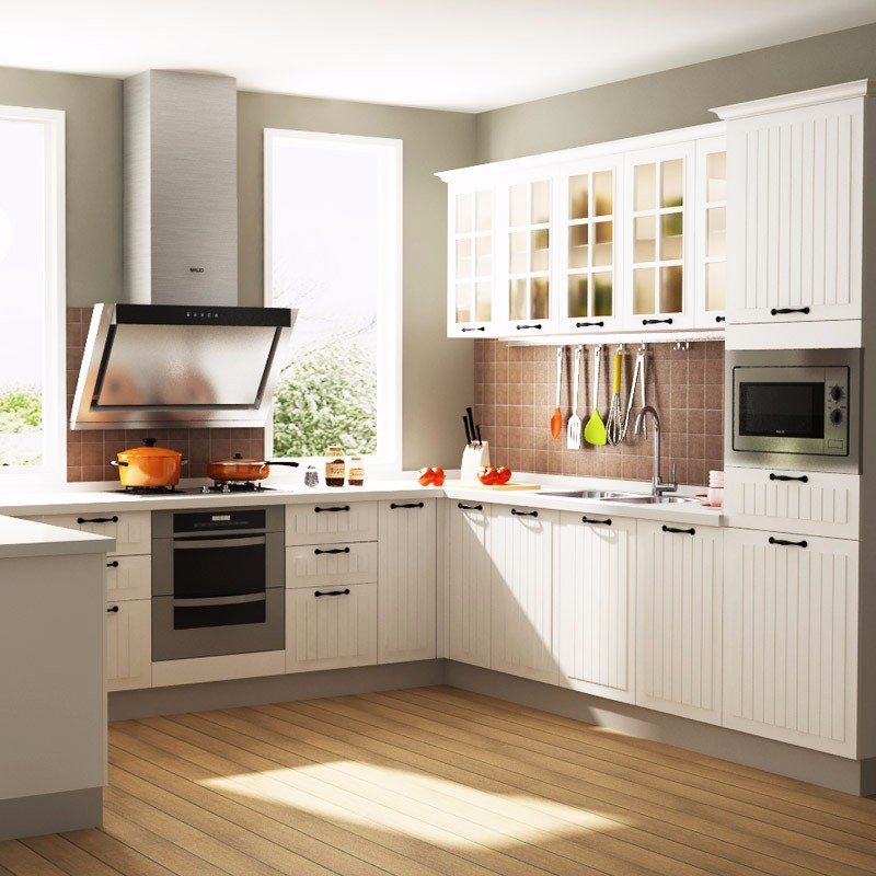 Factory wholesale kitchen cabinet for small kitchens buy for Inexpensive wood kitchen cabinets