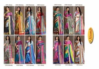 ST Namo Roshani Cotton Silk Saree India Festival Saree