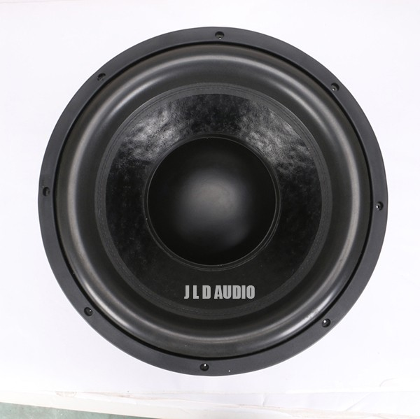 JLDaudio high SPL series car subwoofers with 1500RMS dual 2ohms competition subwoofer