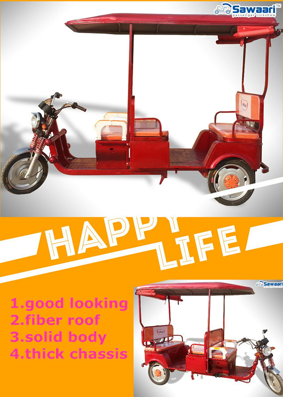 2016 new arrived nepal most popular datai big motor electric rickshaw