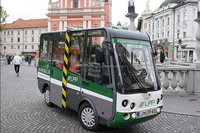 electric mini bus, passenger cart