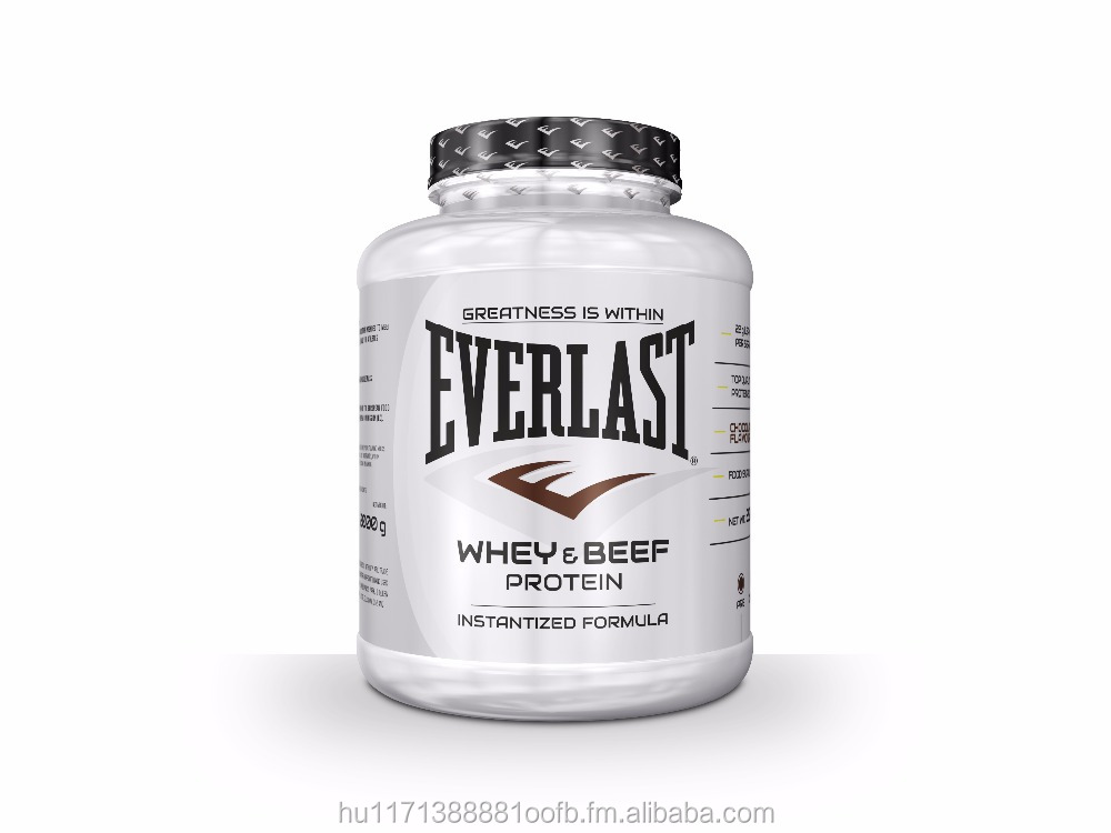 Everlast The Fight Nutrition Whey and Beef Protein 908 gr & 2000 gr