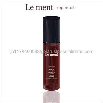 Smokey Cut and petroleum surfactant agent disuse remedy for dry damaged hair Le ment with multiple functions made in Japan