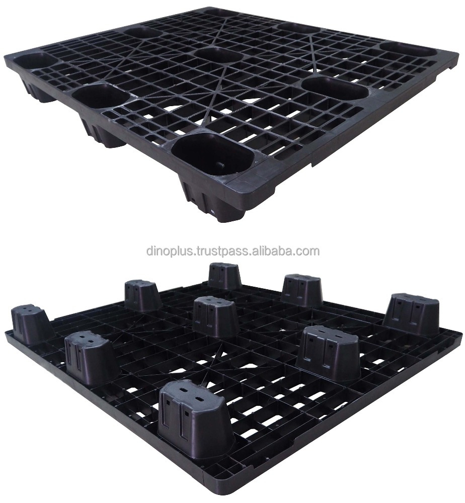 Liga NLT 1012 LG 4-Way Single euro Disposable Plastic Pallet